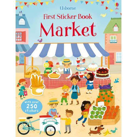 First Sticker Book Market-BuyBookBook