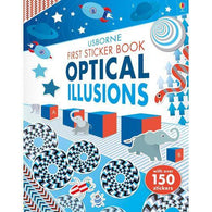 First Sticker Book Optical Illusions-BuyBookBook