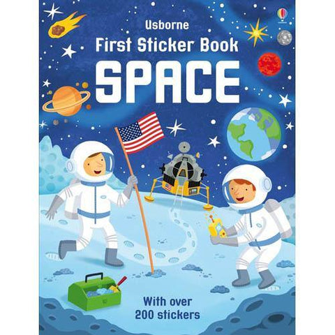 First Sticker Book Space-BuyBookBook