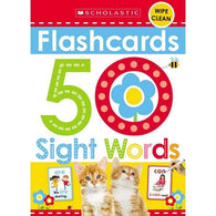 Flash Cards 50 Sight Words-BuyBookBook