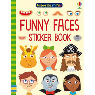 Funny faces sticker book (Mini)-BuyBookBook