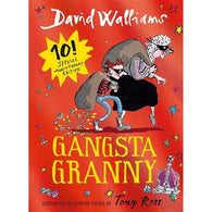 Gangsta Granny Limited Gift Edition (David Walliams) (Full Color Hardback)-BuyBookBook