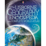 Geography encyclopedia with complete world atlas-BuyBookBook
