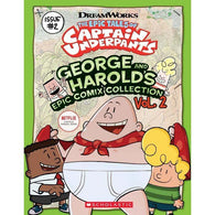George and Harold's Epic Comix Collection Vol. 2 (Epic Tales of Captain Underpants TV)-BuyBookBook