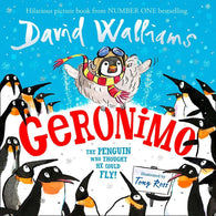 Geronimo The Penguin who thought he could fly! (David Walliams)-BuyBookBook