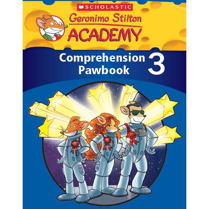 Geronimo Stilton Academy Comprehension Pawbook 3-BuyBookBook