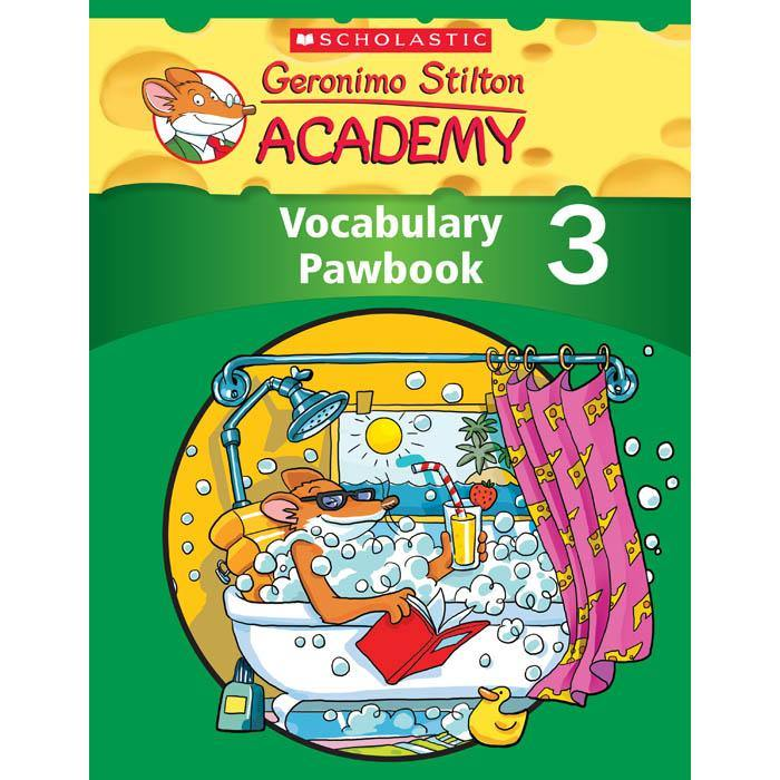 Geronimo Stilton Academy Vocabulary Pawbook 3-BuyBookBook