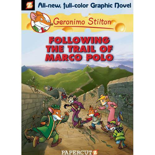 Geronimo Stilton Graphic Novel 04 Following The Trail Of Marco Polo BuyBookBook
