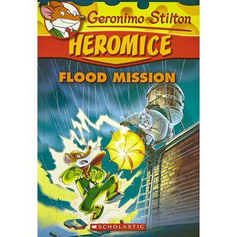 Geronimo Stilton Heromice #03 Flood Mission-BuyBookBook