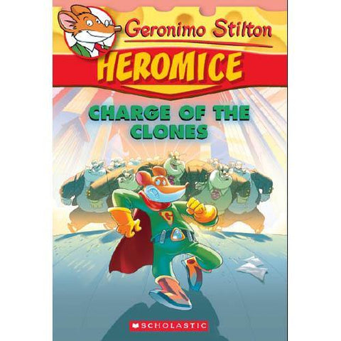 Geronimo Stilton Heromice #08 Charge of the Clones-BuyBookBook