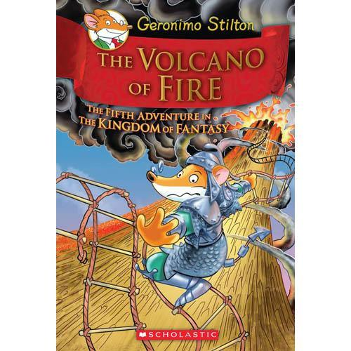 Geronimo Stilton Kingdom of Fantasy #05 The Volcano of Fire-BuyBookBook
