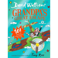 Grandpa's Great Escape Gift Edition (David Walliams) (Full Color Hardcover)-BuyBookBook