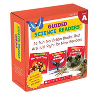 Guided Science Readers Parent Pack Level A (16 Book)-BuyBookBook