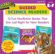 Guided Science Readers Parent Pack Level E-F (16 Book + CD)-BuyBookBook