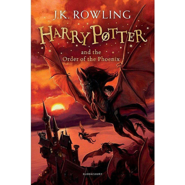 Harry Potter (#5) and the Order of the Phoenix (Paperback)-BuyBookBook