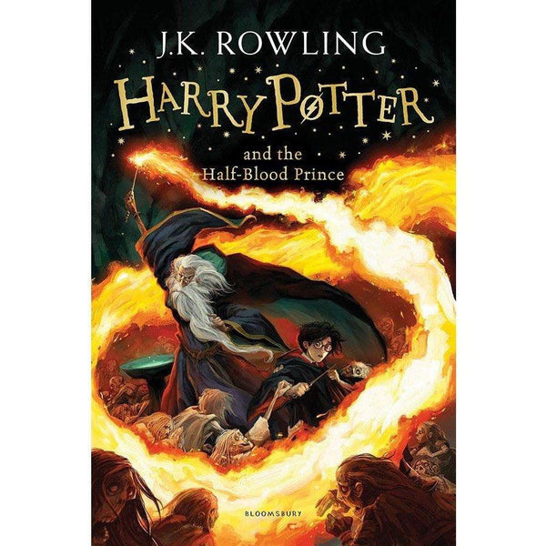 Harry Potter (#6) and the Half-Blood Prince (Paperback)-BuyBookBook