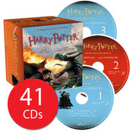 Harry Potter #4-5 Collection (41 Audio CDs)-BuyBookBook