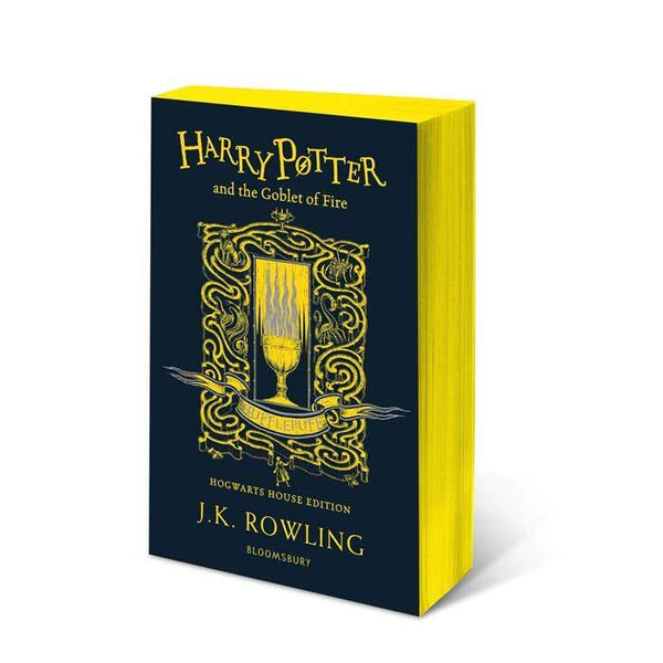 Harry Potter (#4) and the Goblet of Fire (Hufflepuff Paperback)-BuyBookBook