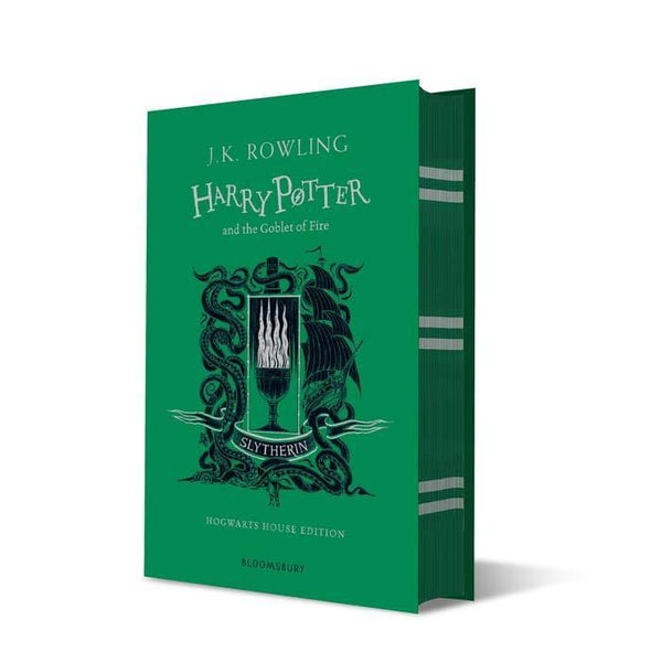 Harry Potter (#4) and the Goblet of Fire (Slytherin Hardback)-BuyBookBook
