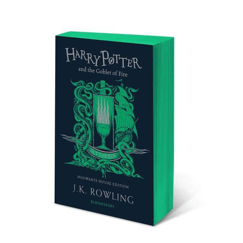 Harry Potter (#4) and the Goblet of Fire (Slytherin Paperback)-BuyBookBook