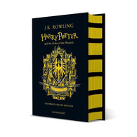 Harry Potter (#5) and the Order of the Phoenix (Hufflepuff Hardback)-BuyBookBook