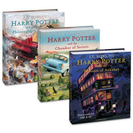 Harry Potter (#1-3) Illustrated Collection (3 Books)-BuyBookBook