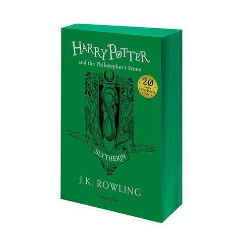Harry Potter (#1) and the Philosopher's Stone (Slytherin Paperback)-BuyBookBook