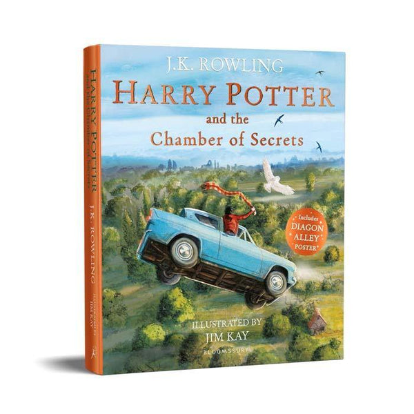 Harry Potter (#2) and the Chamber of Secrets Illustrated (Paperback)-BuyBookBook