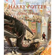 Harry Potter (#4) and the Goblet of Fire Illustrated Edition (Hardback)-BuyBookBook