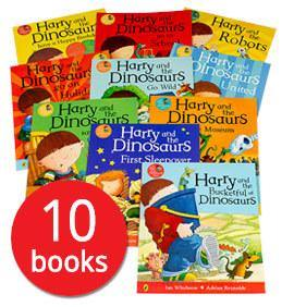 Harry and the Dinosaurs Collection (10 Books)
