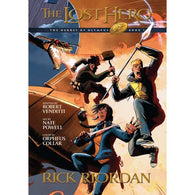 Heroes of Olympus #1 The Lost Hero (Graphic Novel)-BuyBookBook