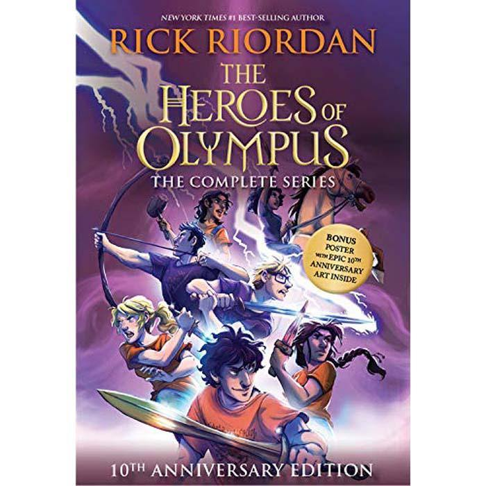 Heroes of Olympus Collection (5 Books) (10th Anniversary Edition) (Rick Riordan)-BuyBookBook