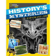 NGK: History's Mysteries - Legends and Lore-BuyBookBook