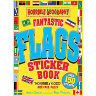 Horrible Geography- Fantastic Flags Sticker Book-BuyBookBook