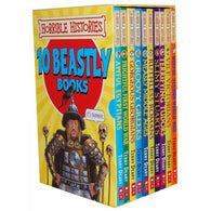 Horrible Histories Beastly Collection (10 book)-BuyBookBook
