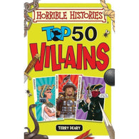Horrible Histories Top 50 Villains (Full Color)-BuyBookBook