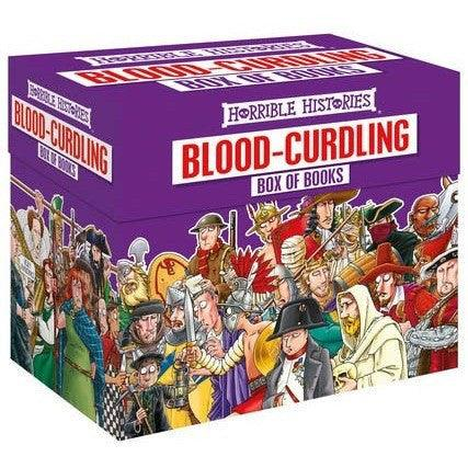 Horrible Histories Collection: Blood-curdling Box of Books (20 Books)-BuyBookBook