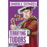 Horrible Histories: Terrifying Tudors-BuyBookBook