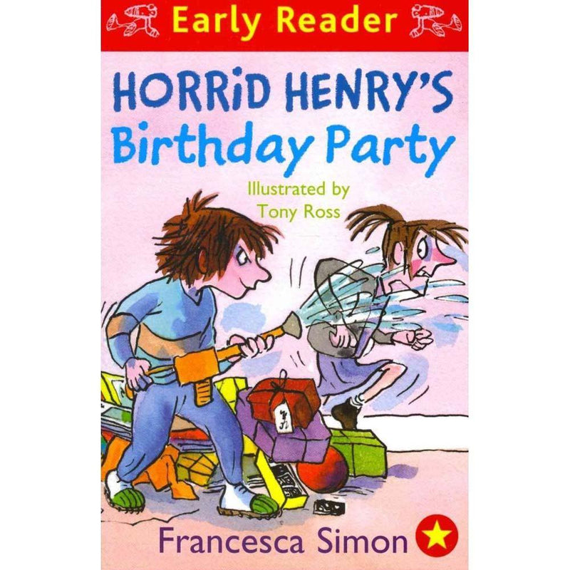 Horrid Henry's Birthday Party (Early Reader) (Francesca Simon)(Tony Ross)-BuyBookBook