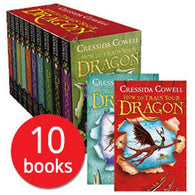 How to Train Your Dragon Collection (10 Books)-BuyBookBook