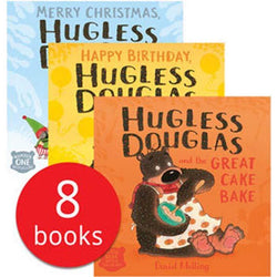 Hugless Douglas Collection (8 Books)-BuyBookBook