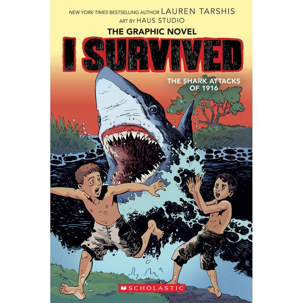 I Survived (Graphic Novel) The Shark Attacks of 1916-BuyBookBook