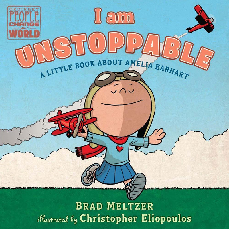 I am Unstoppable: A Little Book About Amelia Earhart (Board Book)-BuyBookBook