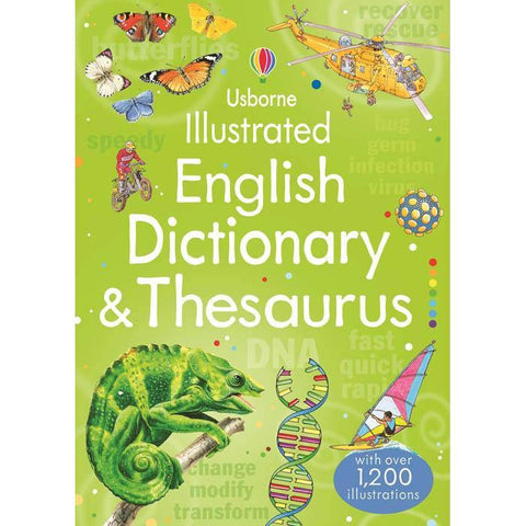 Illustrated English dictionary and thesaurus-BuyBookBook