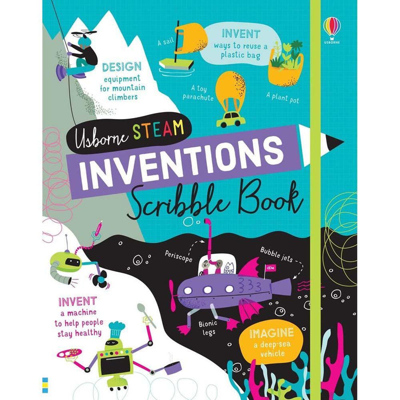 Inventions Scribble Book-BuyBookBook