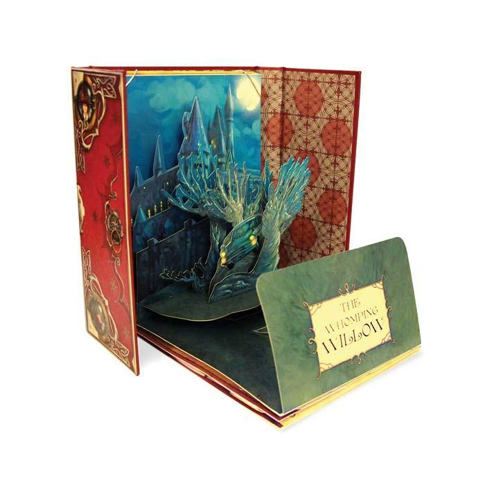J.K. Rowling's Wizarding World - A Pop-Up Gallery of Curiosities (Hardback)-BuyBookBook