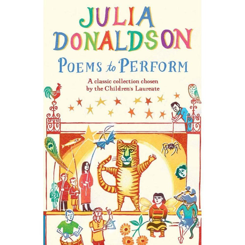 Julia Donaldson Poems to Perform (J. Donaldson)-BuyBookBook
