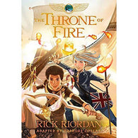 Kane Chronicles, The #2 The Throne of Fire (Graphic Novel)-BuyBookBook