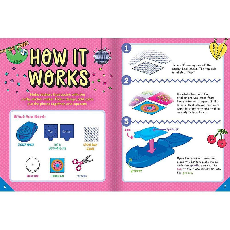 Klutz Make Your Own Puffy Stickers-BuyBookBook