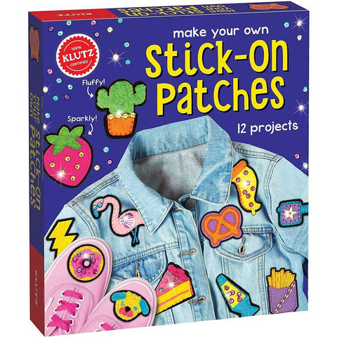 Klutz Make Your Own Stick-On Patches-BuyBookBook